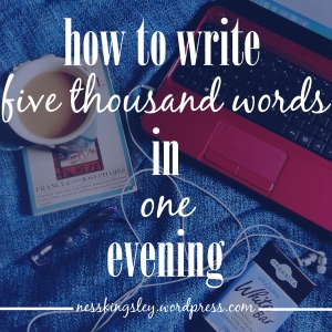 how towritefivethousand